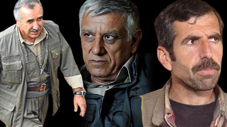 Güvenlik kaynakları duyurdu: Murat Karayılan, Cemil Bayık ve Bahoz Erdal'ı yakalanma korkusu sardı