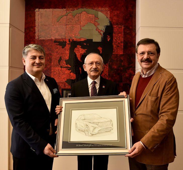 Kemal Kılıçdaroğlu TOGG heyeti ile görüştü