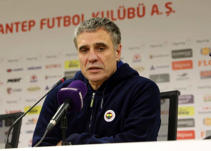 Gaziantep FK - Fenerbahçe maçının ardından