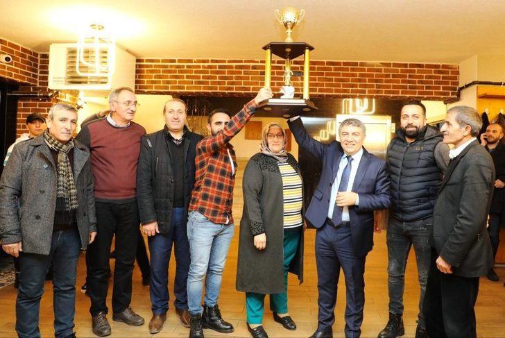 Başkan Şayir, şampiyon Dilovası'nı ağırladı