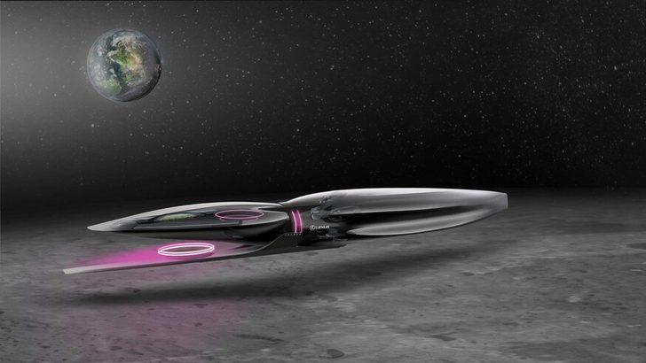 Lexus Ay yüzeyinde kullanılacak otomobil geliştiriyor