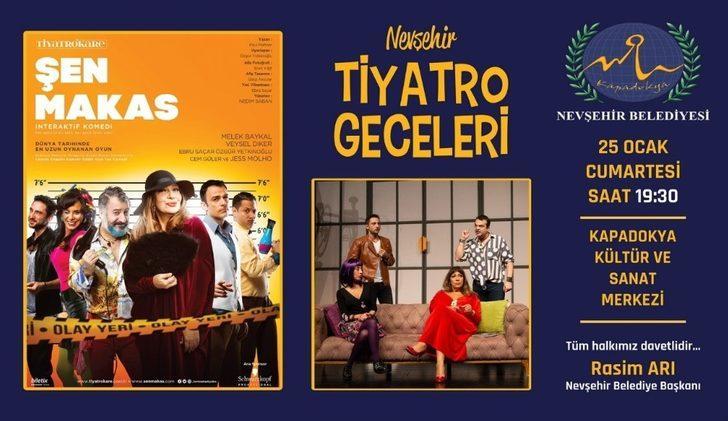 """Guiness Rekorlar Kitabı'na giren """"Şen Makas"""" Nevşehir'de sahnelenecek"""
