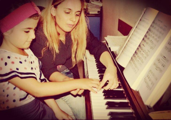 Şırnaklı Çocuklar Piyano Öğreniyor