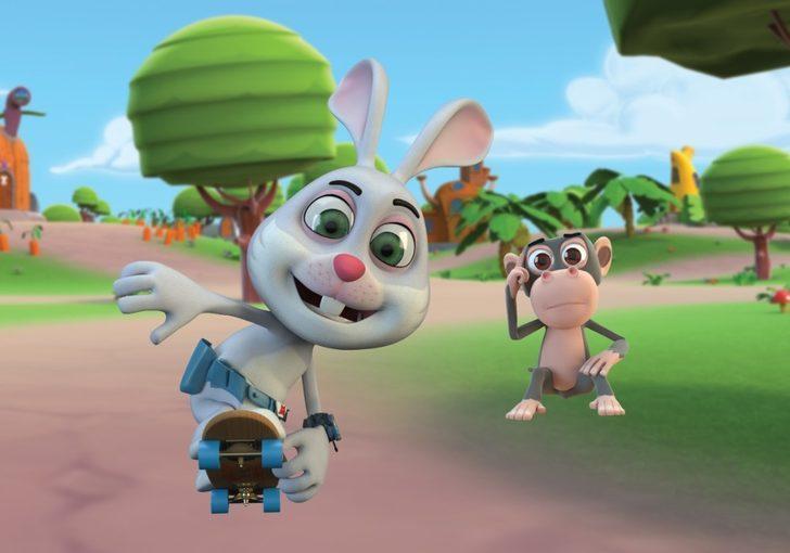 Momo Akıllı Tavşan 14 Burda'da