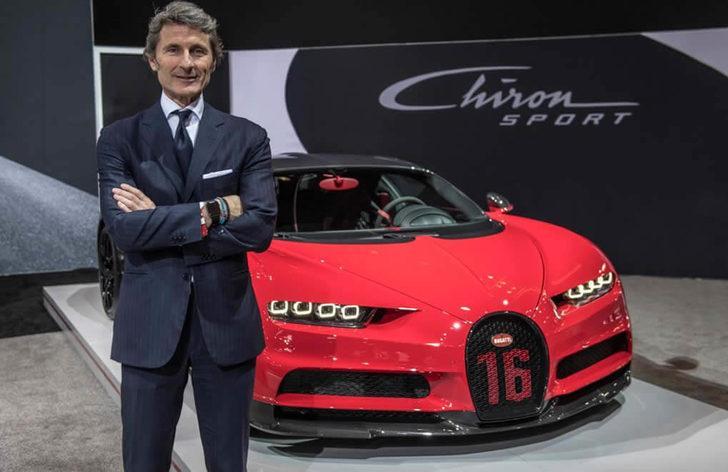 Bugatti CEO'sunun otomobili bir Bugatti değil! Bakın hangi aracı kullanıyor?