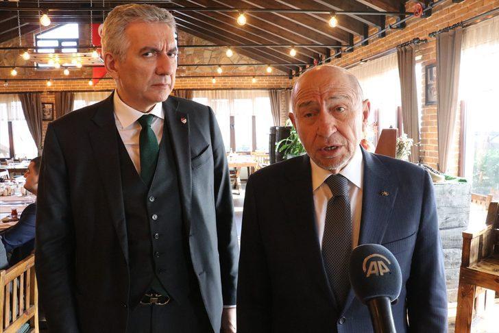 """TFF Başkanı Nihat Özdemir'den flaş açıklama: """"Futbol takımlarımızın hiçbir hakkı ziyan olmaz"""""""