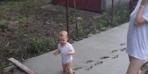 Çocuğunu yalnız bırakınca olanlar oldu!