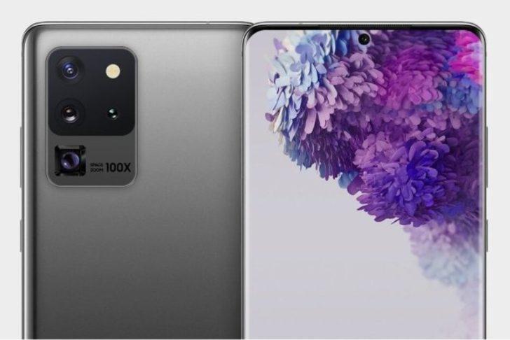 Galaxy S20 Ultra 12 GB RAM ile gelecek!