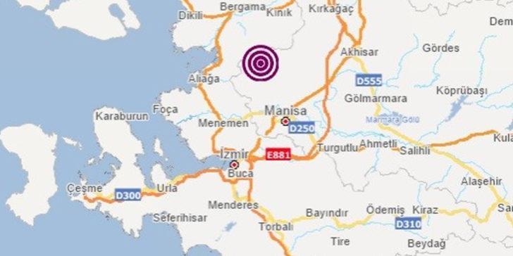 Son dakika: Manisa'da art arda depremler (AFAD-Kandilli Rasathanesi Son Depremler)