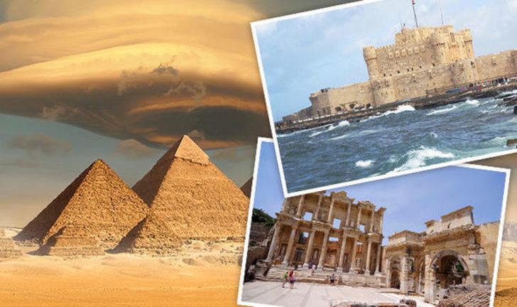 Dünyanın 7 harikası isimleri ve yerleri