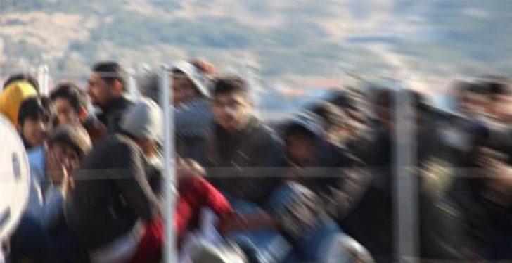 Tekirdağ'da 8 düzensiz göçmen yakalandı