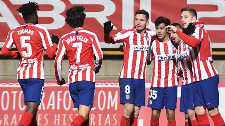 Cultural Leonesa 2-1 Atletico Madrid (İspanya Kral Kupası)