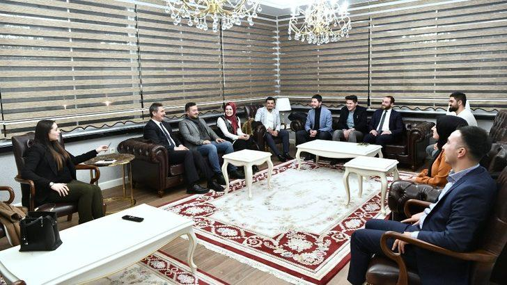 Başkan Köse, gençleri dinledi
