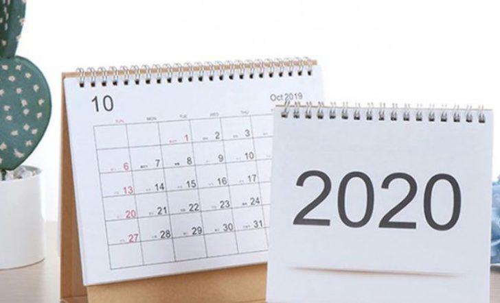 Resmi tatiller 2020: Ramazan ve Kurban Bayramı ne zaman?