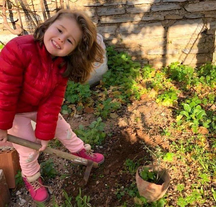 'Toprak Dede' için fidan diktiler