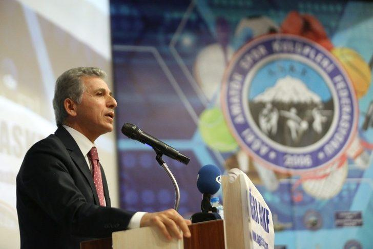 """TASKK Başkanı Düşmez: """"Futbolda komplo teorisi üretmeye gerek yok"""""""