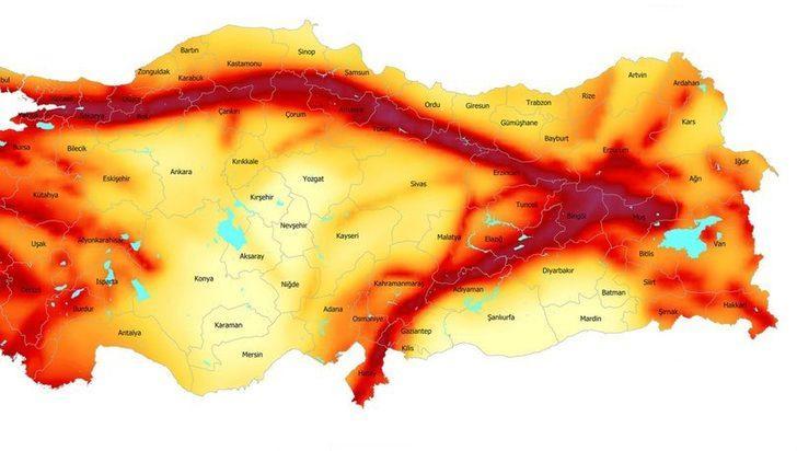 Doğu Anadolu Fay Hattı nereden geçiyor?