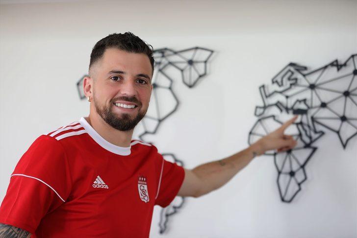"""Sivasspor'un yeni transferi Claudemir: """"Lider olmak büyük bir başarı"""""""