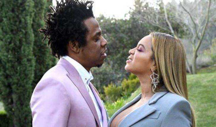 Beyonce ve Jay-Z Grammy brunch'ında