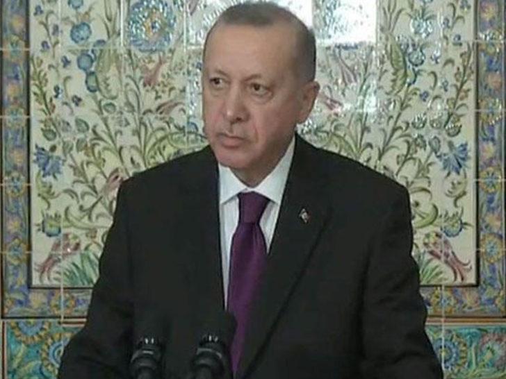 Son dakika: Cumhurbaşkanı Erdoğan'dan Cezayir'de 'vize' açıklaması