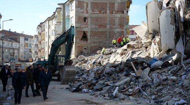 AFAD: Elazığ'da 826 artçı deprem meydana geldi