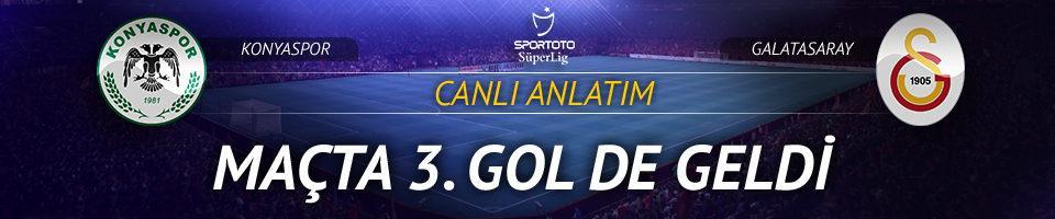 CANLI YAYIN | Konyaspor - Galatasaray
