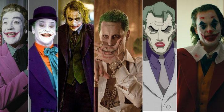 Joker filmleri ve Joker oyuncuları