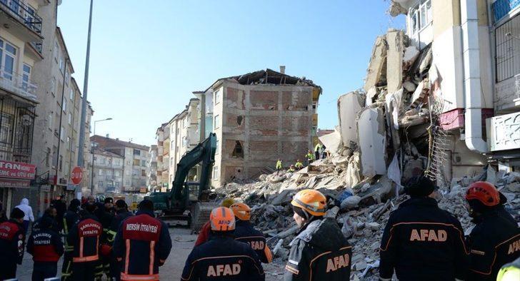Elazığ'da son durum! AFAD: Toplam artçı sayısı bin 77, acil yıkılacak 50 bina tespit edildi