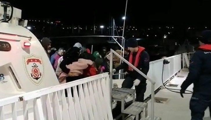 Kuşadası'nda  2 ayrı operasyonda 109 düzensiz göçmen yakalandı