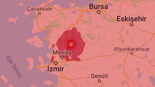 Manisa'da 4.7, Marmaris açıklarında 4.6...