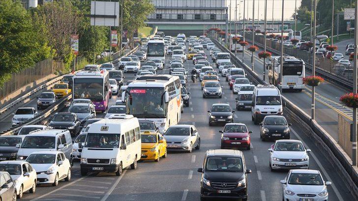 Trafiğe kaydı yapılan taşıt sayısı yüzde 71,8 arttı