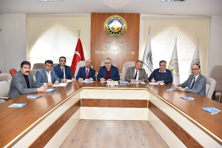Aksaray'da iş birliği protokolü imzalandı