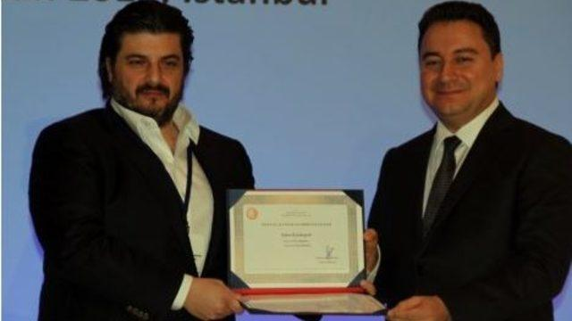 Emre Kurttepeli received Accredited Angel Investor License from the Deputy Prime Minister Ali Babacan