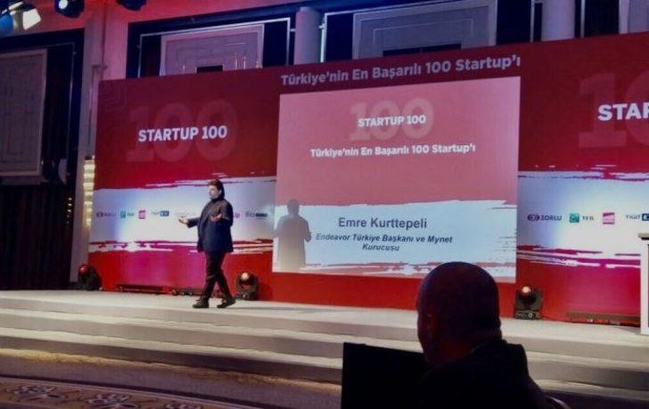 Emre Kurttepeli Joined Startup 100 Award Ceremony as Speaker