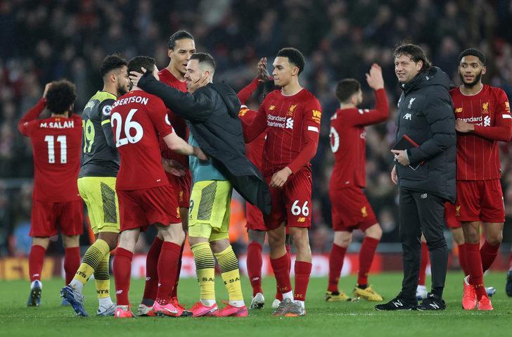 ÖZET   Liverpool - Southampton maç sonucu: 4-0