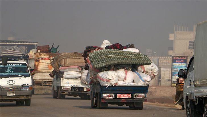 Son dakika! İdlib'den 151 bin sivil Türkiye sınırına geldi