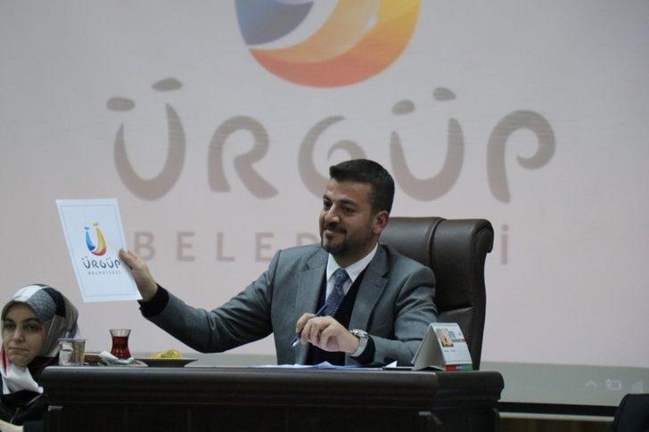 Ürgüp Belediyesi logosunu değiştirdi