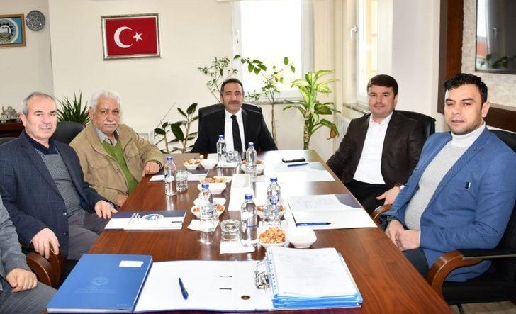 Aksaray'da OSB Şubat ayı toplantısı yapıldı