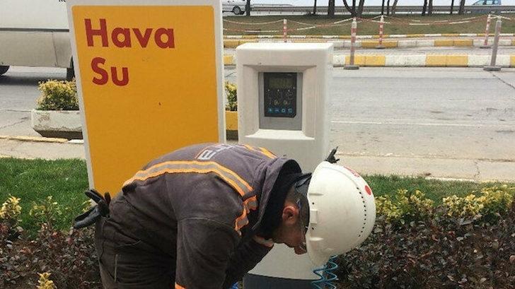 EPGİS'ten akaryakıt istasyonlarındaki lastik basınç cihazlarına ilişkin açıklama
