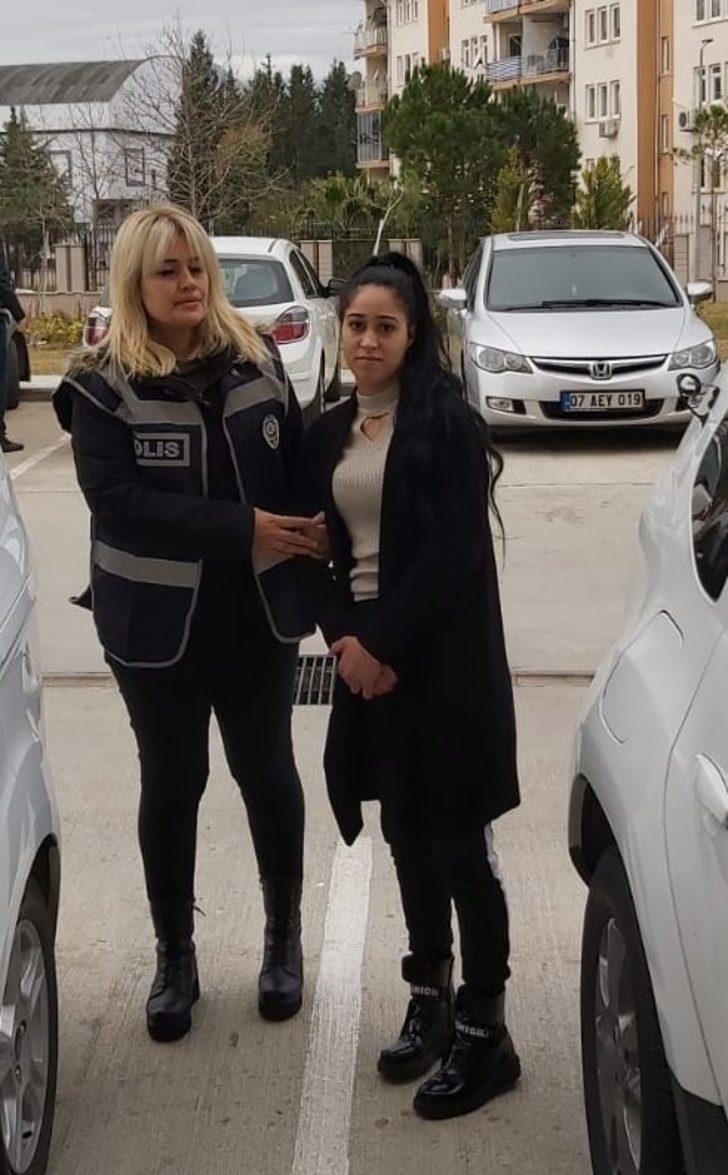 Hırsızlık şüphelisi kadın yakalandı