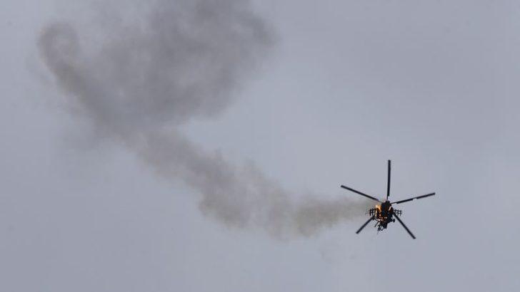Muhalifler Suriye Ordusuna Ait Helikopteri Düşürdü