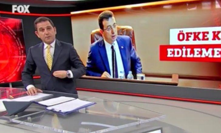 Fatih Portakal'dan Ekrem İmamoğlu'na küfür sitemi: Hiçbir insan hak etmez