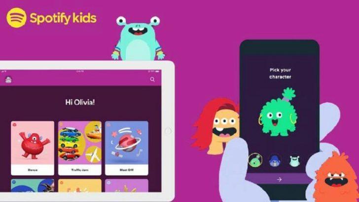 Spotify Kids çocuklar için yakında geliyor