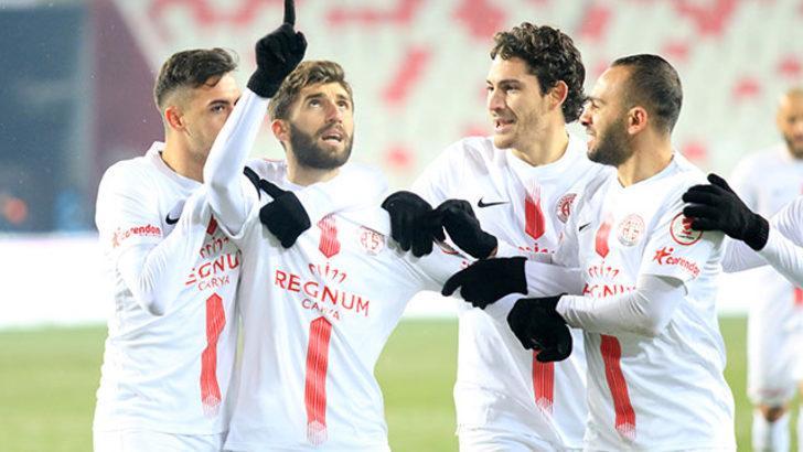 Antalyaspor evinde 7 maçtır kazanamıyor