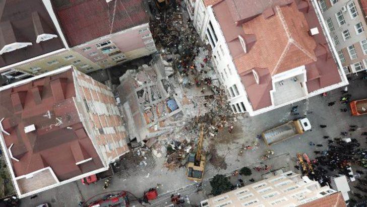 Son dakika: Bahçelievler'de çöken binayla ilgili soruşturma başlatıldı