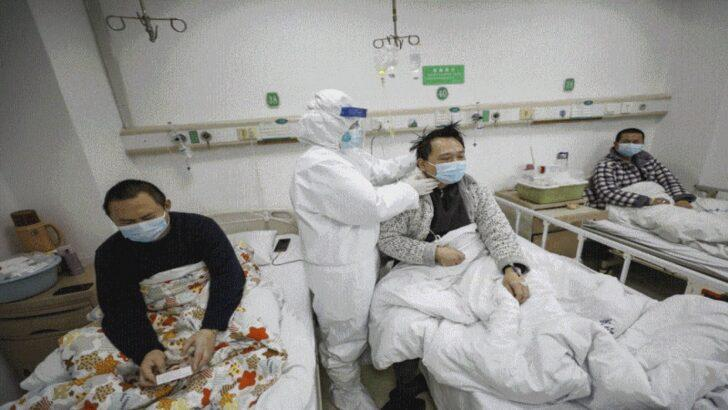 Çin'de 1700 Sağlık Çalışanı Virüs Kaptı