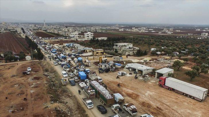 Birleşmiş Milletler'den İdlib açıklaması: Son 3 günde 143 bin kişi yerinden edildi
