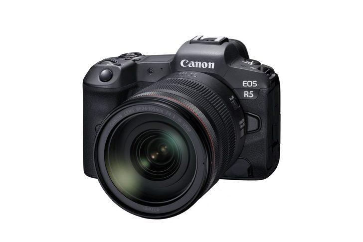 Eos R5 8K video çekiyor