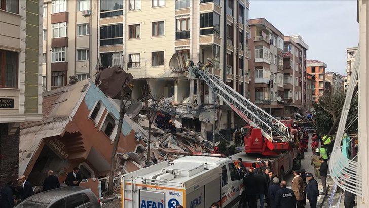 Bahçelievler'de yıkılan binanın ardından tedbir amacıyla boşaltılan 4 binaya giriş izni verildi