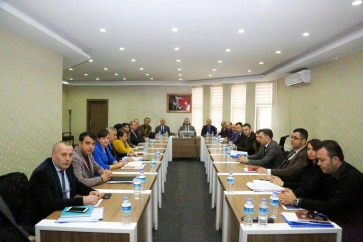 Niğde Belediyesi birim müdürleri toplantısı yapıldı